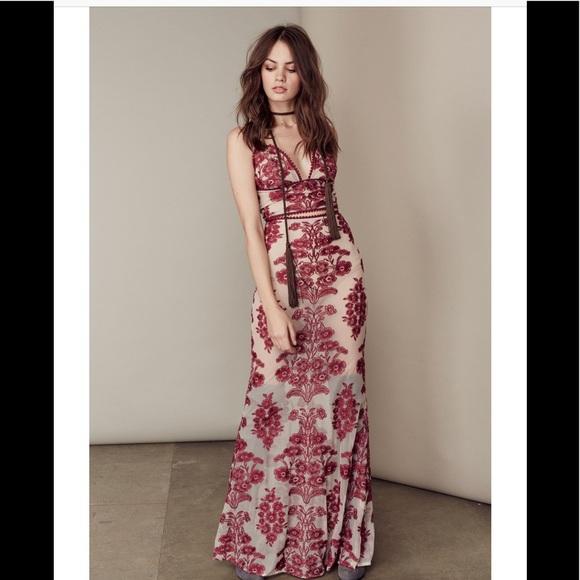 83bcfe2f37d For Love And Lemons Dresses   Skirts - For love   lemons Wine Temecula Maxi  skirt